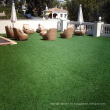 2018 hierba artificial sintética al aire libre barata de 12m m para ajardinar