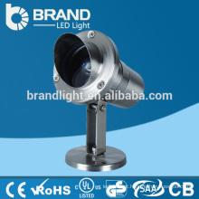 IP68 304 em aço inoxidável 3W LED piscina luz IP68 LED Pool Light, 3 anos de garantia