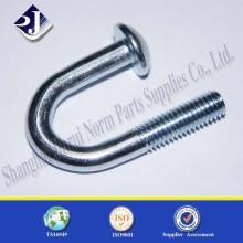 U Perno con revestimiento de zinc 8.8