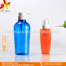 150ml 600ml PET hard plastic packaging
