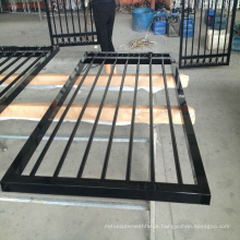 outdoor Iron fencing