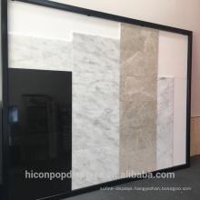 Stone Display Stand Tile Display Rack Manufacturer Made Metal Ceramic Tile Display Systems