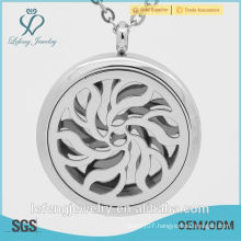 High polished Fashionable women unique perfume lockets