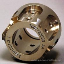 Quente! Parte fazendo à máquina personalizada do CNC do cobre de bronze