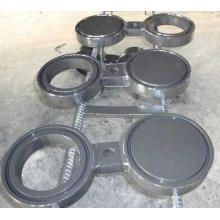 Stainless steel spectacle blind flange rf