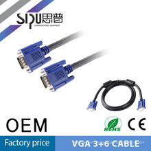 SIPU CHOSEAL VGA Male to Male Cable for Laptop, Computer, Game Console, HDTV Monitor Cable