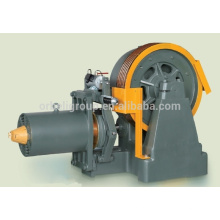 Elevator geared traction machine -Elevator traction machine