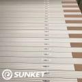 Panneau solaire mono de 440 W par rapport au panneau canadien