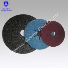 0.8mm thickness fiber aluminum oxide grinding disc