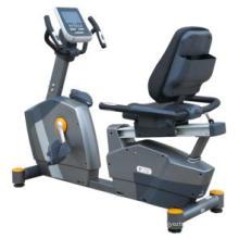 Vélo couché commercial de gymnase d'équipement de forme physique pour la musculation