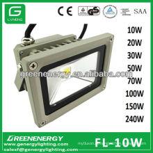 3 anos de garantia 10W RGB luz IP65 alta potência COB LED holofote 10W 20W 30W 50W 70W 100W 120W 150W 240W CE RoHS TUV GS SAA EMC