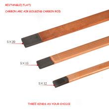 Copper Coated Gouging Graphite Electrode Rod for Soldering