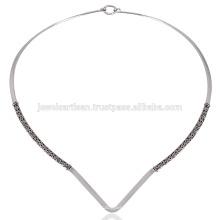 Ручной работы красивого разработана серебряные ювелирные изделия делает прекрасный подарок для нее