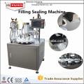 Одобренный CE полноавтоматическая пластичная Завалка пробки & машина запечатывания