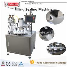 Новый продукт НХ-006 ультразвуковой автоматические Завалка пробки и машина запечатывания