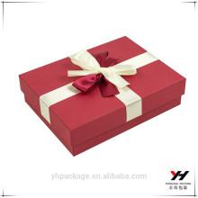 Boîte de haute qualité faite sur commande de cadeau de papier de catégorie comestible