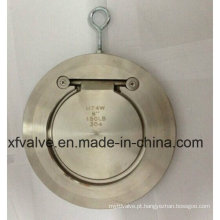 ANSI Aço Inoxidável CF8 Single Disc Wafer Flange Check Valve