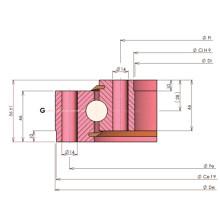 Rollix Light Type Ungeared Четырехточечный контактный шариковый подшипник 33 0541 01