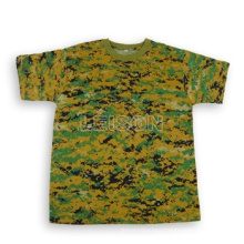 Military T-Shirt with Superior Quality Cotton/Polyester