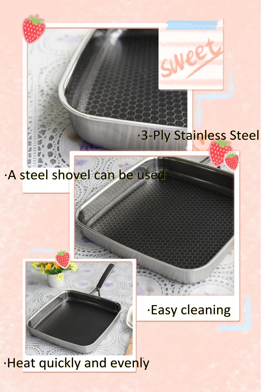 triply stainless steel made in korea stockpot