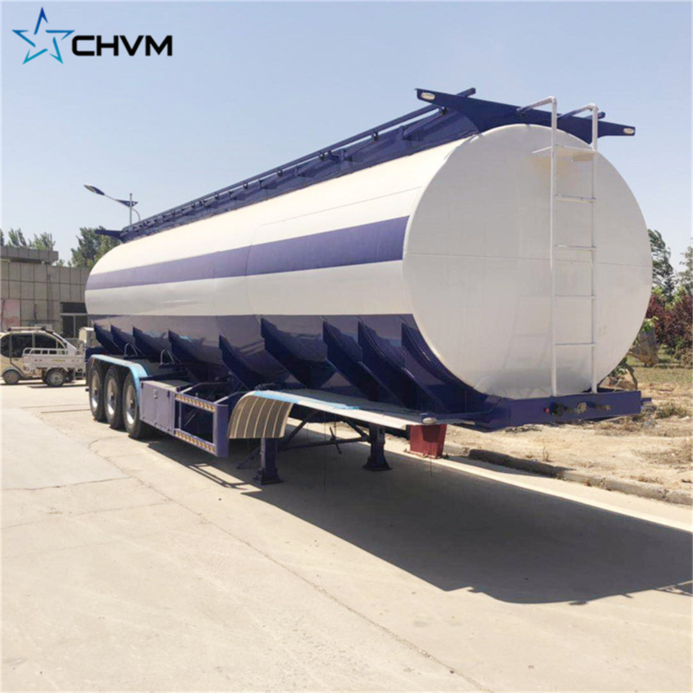 3 Axles water tank trailer
