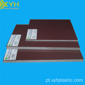 Folha laminada do papel de Phenolic de 4ftx8ft de Brown