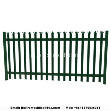Pagar Coated Powder dan Galvanized Steel Palisade