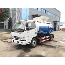 Factory Sale Cheap Dongfeng 4CBM Food Waste Truck