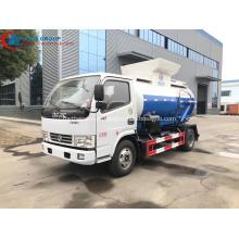 Caminhão barato do desperdício de alimento de Dongfeng 4CBM da venda da fábrica
