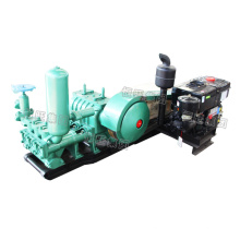 BW200 Portable Horizontal double cylinder reciprocating double acting piston Mud Pump for Drilling Rig machine mud pump