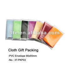 Paquet de cadeaux en tissu de nettoyage d'objectif