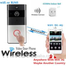 Качестве HD IP видео-Телефон двери беспроводной Чувствительность редактируемые пир монитор длительное время автономной работы беспроводной СИП-Телефон двери