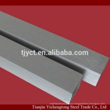 Tubo de alumínio sem costura redonda / tubo de alumínio quadrado preço por kg