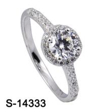 Anillo de bodas de la plata esterlina de la joyería 925 de la manera de la alta calidad