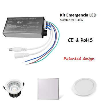 Kit De Emergencia LED 40W