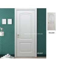 Недавно созданные доступные цены Белый дуб Интерьер Твердые деревянные двери