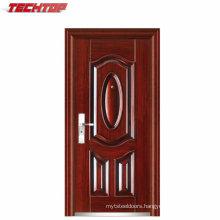 TPS-123 Oversize Wrought Iron Single Entry Doors Exterior Villa Door