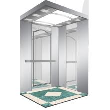 Aksen Mirror Etched Machine Room Passenger Elevator J0331