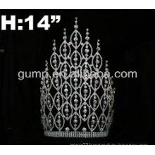 custom rhinestone tiara crown