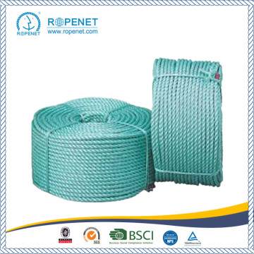 Twist type PP Danline Rope 3 Strand Polypropylen Rope