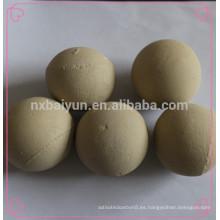 Altas bolas de cerámica del alúmina / bolas de cerámica del alúmina del material el 99% / precio competitivo de cerámica