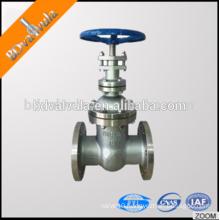 API rising stem stainless steel gate valve flange type gate valve