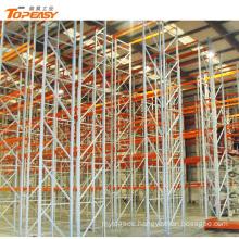 heavy duty warehouse storage double deep racking