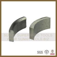 Segment de noyau de diamant pour béton de fer 105mm - 150mm