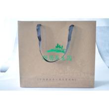 Печатная сумка ручной работы Kraft для одежды / обуви