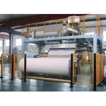 Линия для производства нетканых материалов из полипропилена с возможностью горячей замены