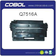 Cartucho de tóner compatible Q7516A para HP