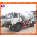 Dongfeng 8cbm Cement Mixer Truck / Concrete Mixing Transport Truck