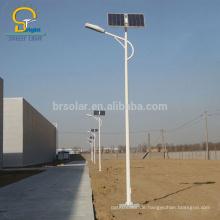 Solar führte Straßenlaterne führte Solarstraßenlaterne 3 12m Pfosten und 10w 120w geführte Lampengelbatterie