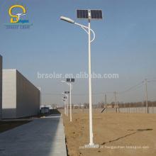 o pólo conduzido solar da luz de rua da luz solar 3 o pólo de 12m e 10w 120w conduziu a bateria do gel da lâmpada